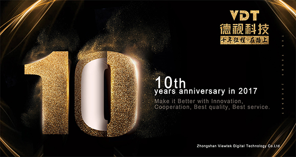 VDT 10th years anniversary in 2017