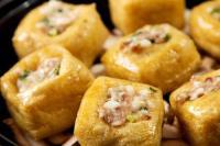香菇焖油豆腐制作步骤