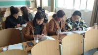 阳谷县西街小学举行实验操作培训