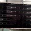 華普光電A級200瓦單晶太陽能電池板上線成品展示_宿遷太陽能電池板廠家_宿遷華普