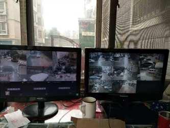 九江盛世嘉园监控安装案例