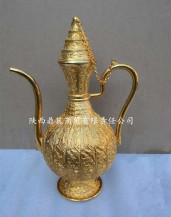 金银器金錾云龙纹执壶