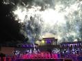 焰火秀绽放《布衣天子》在蚌埠首演