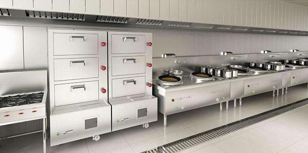 厨房设备工程,厨房设备案例