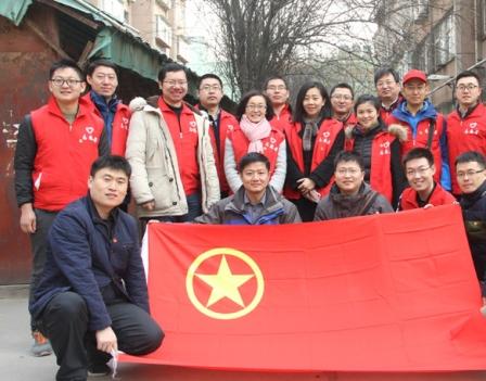 省经信院组织人员参加学雷锋志愿服务活动