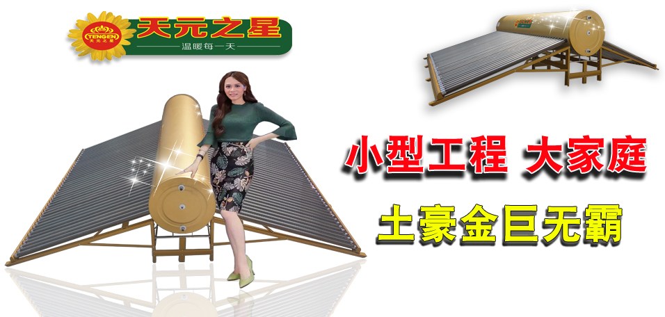 大容量储水式太阳能