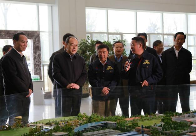 云南省委副书记、省长阮成发到公司调研