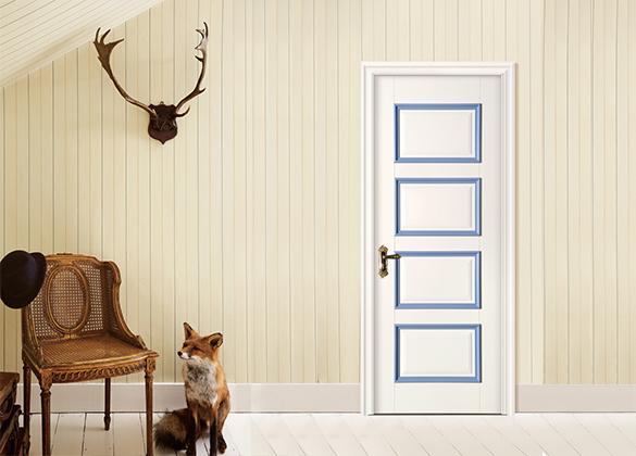 实木扣线门系列
