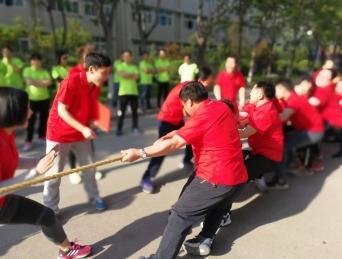 河南省凯达建筑有限公司举办 第四届春季职工运动会