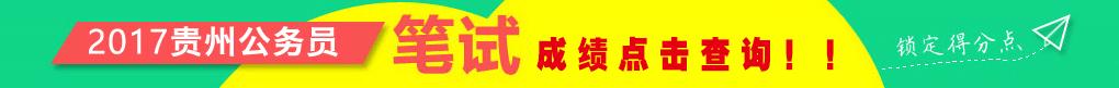 2017贵州省考,2017贵州公务员考试