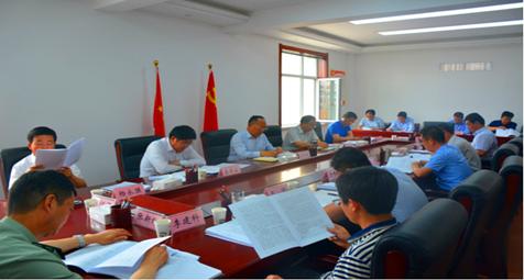 会宁县委常委会听取市委第六轮被巡察单位反馈意见整改情况汇报