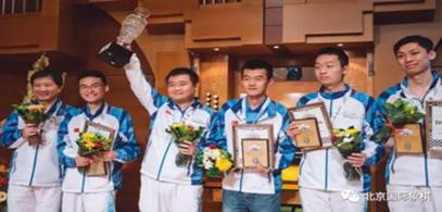 中国国际象棋男队再夺世界团体锦标赛冠军