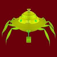 《蟹形垃圾收集器》 根据北京林一衡同学的创意画制作而成