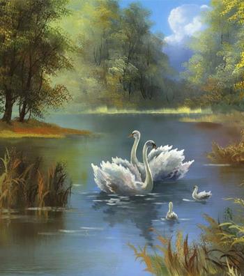最美意境油画 美到让人心动