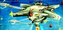 儿童科幻画——《登月考察》 黄娟 女 13 酒泉市肃州区果园学区果园沟小学