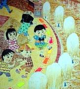儿童科幻画——《傍水平台的卫士》庄嘉女11导师:黄铸