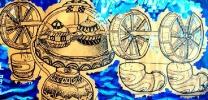儿童科幻画——《波能、氘*》汪智娅 女 12 国防科技第一附小