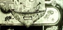 儿童科幻画——《磁悬浮城市》 黄婕 女 12 福安市实验小学