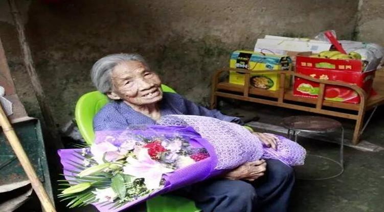 上林西燕拉甫覃奶奶108岁的长寿秘诀!