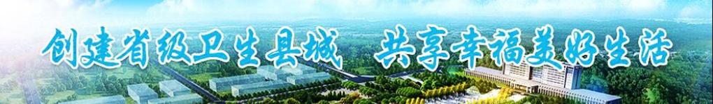 创建省级卫生县城