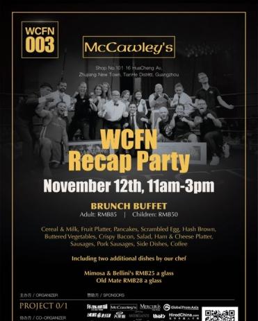 WCFN Recap Party
