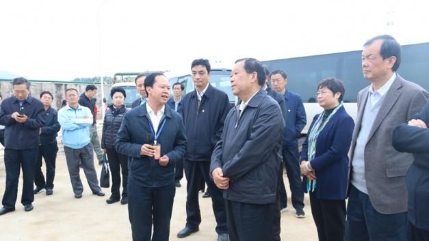 全国政协副主席、农工党中央常务副主席刘晓峰到驰宏会冶调研