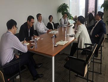 中海外租賃與招商銀行總行離岸中心開展業務合作交流