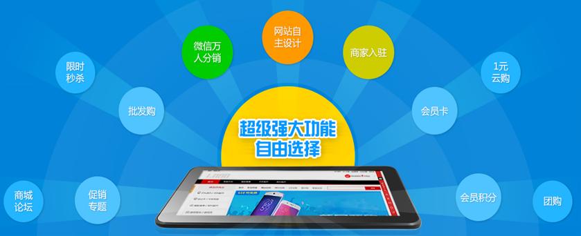 商城網站分銷系統