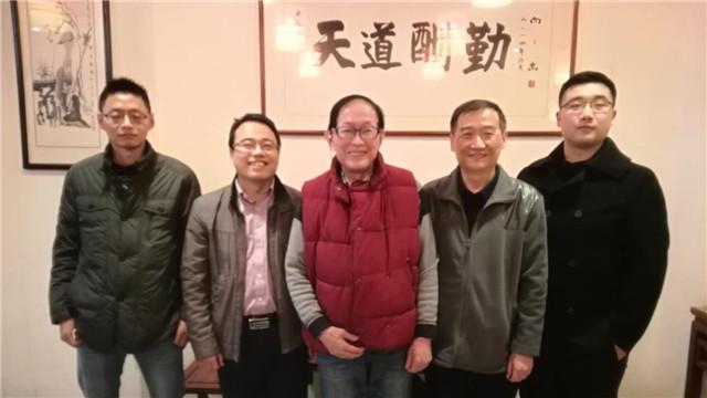 我会陆伟良会长在南京与副会长龚永平研究员级高工等工作会晤