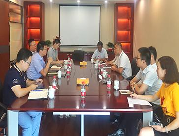 中海外租賃與長沙金霞經濟開發區開展業務交流