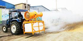 悬挂式风送高效远程喷雾机