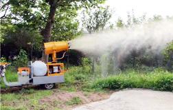 园林绿化用车载式风送远程打药机