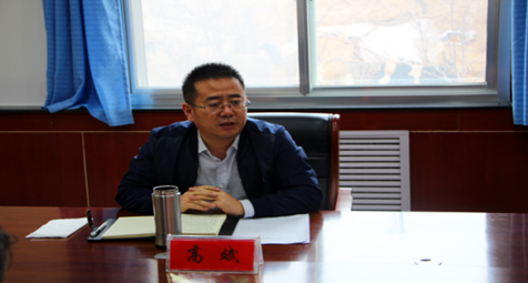 高斌参加指导八里湾乡党委班子民主生活会