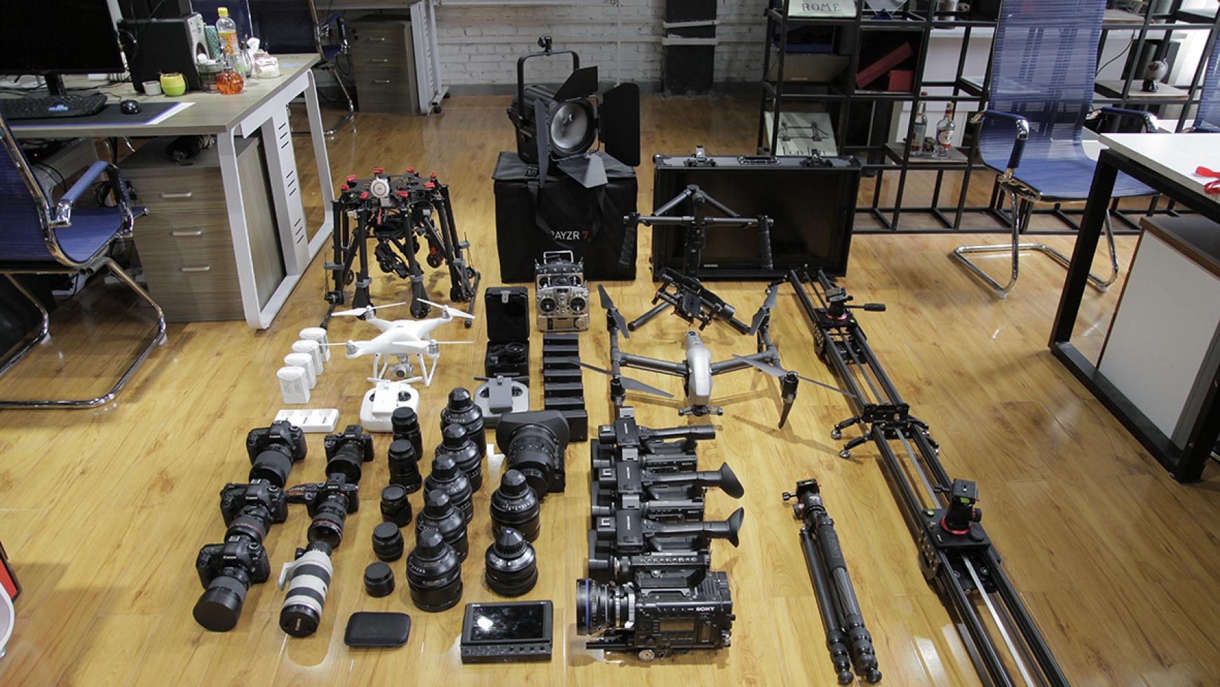 A7S拍摄系统3套+镜头组共15枚+专业摄影器材组