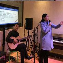 政协副主席罗素平参加九三活动