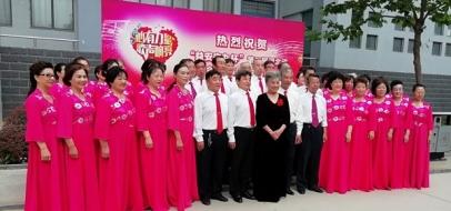 海韵合唱团参加省合唱比赛