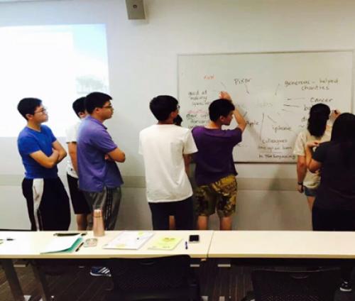 在昆士兰科技大学参观学习