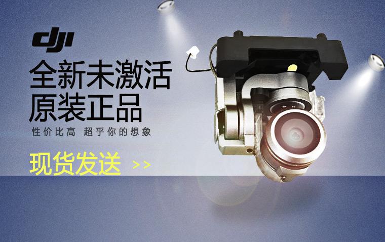 DJI大疆无人机 御 Mavic Pro云台相机镜头原厂