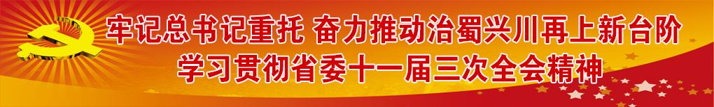 学习贯彻落实省委十一届三次全会精神
