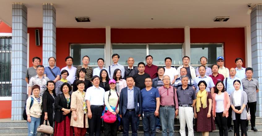 江蘇省成人教育協會到我校參觀指導