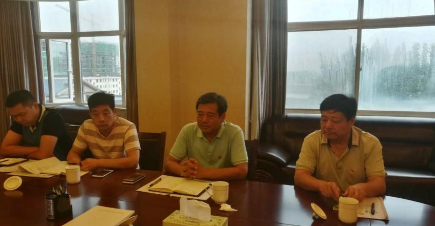 市国资副局长张宏亮一行到我公司检查指导工作