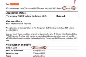 澳洲482工作签惊喜不断,实现梦想