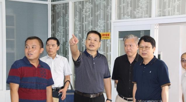 省新闻出版广电局调研融媒体建设