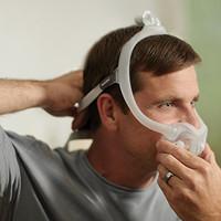 飞利浦伟康 DreamWear呼吸机全脸口鼻面罩,不压迫鼻梁,不影响翻身