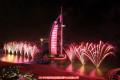 2018年迪拜帆船酒店周年庆典焰火秀