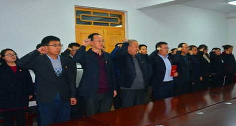 县纪委监委举行宪法宣誓仪式