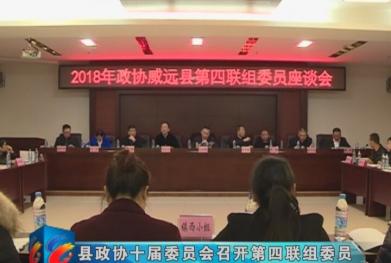视频|县政协十届委员会召开第四联组委员座谈会