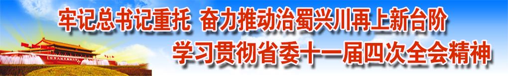牢记总书记重托 奋力推动治蜀兴川再上新台阶——学习贯彻省委十一届四次全会精神