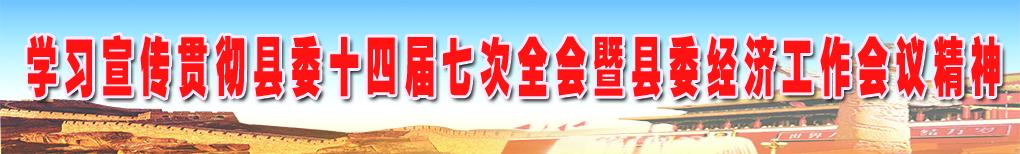 学习宣传贯彻县委十四届七次全会暨县委经济工作会议精神
