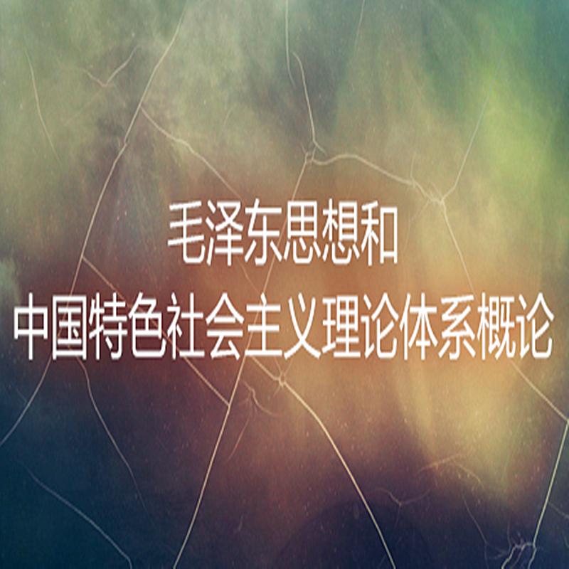毛泽东思想和中国特色社会主义概论